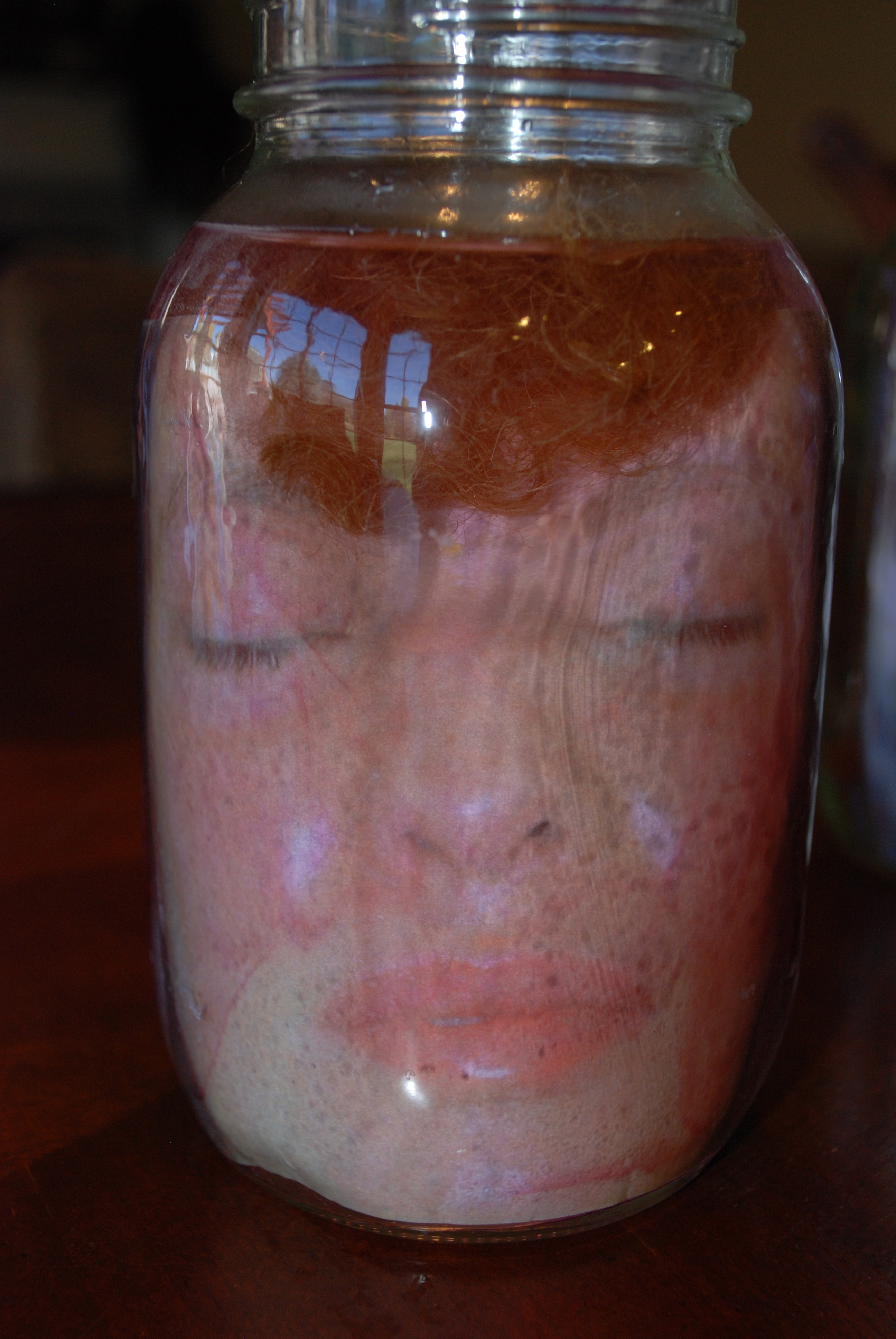 photograph about Head in a Jar Printable known as Brain inside of a Jar illusion
