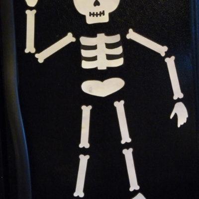 Skeleton Fridge Magnet