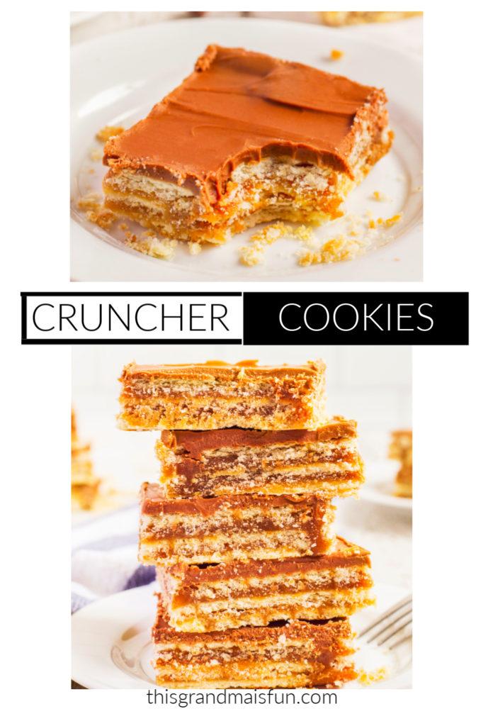 Cruncher Cookies