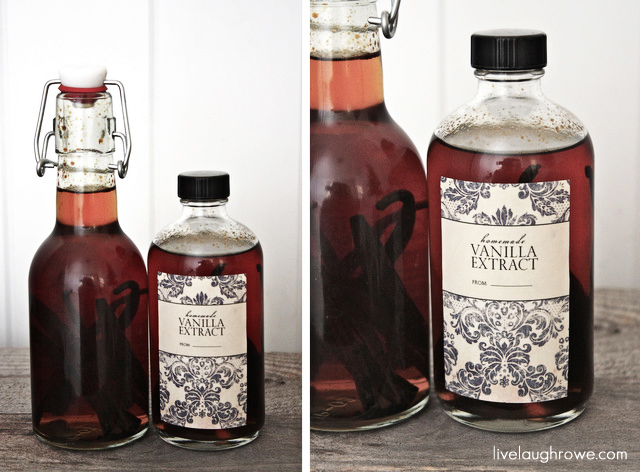 Make Your Own Vanilla Part Two – The Label