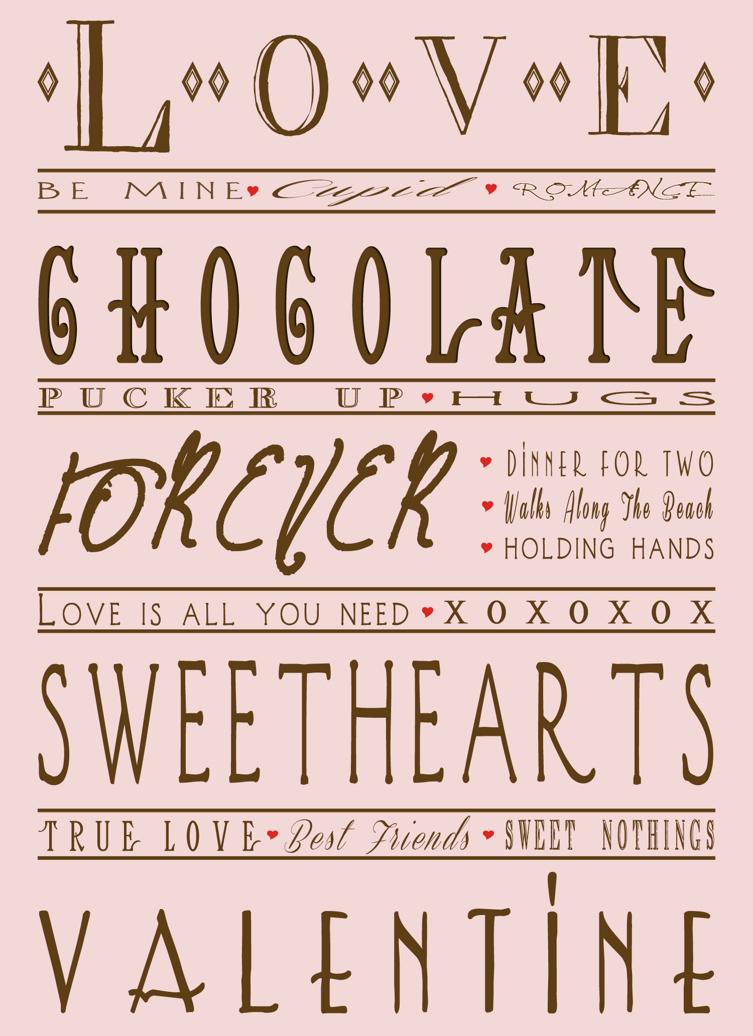 Valentine Day Printable