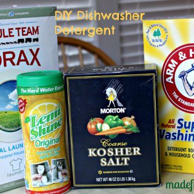 DIY – Make Your Own Dishwasher Detergent