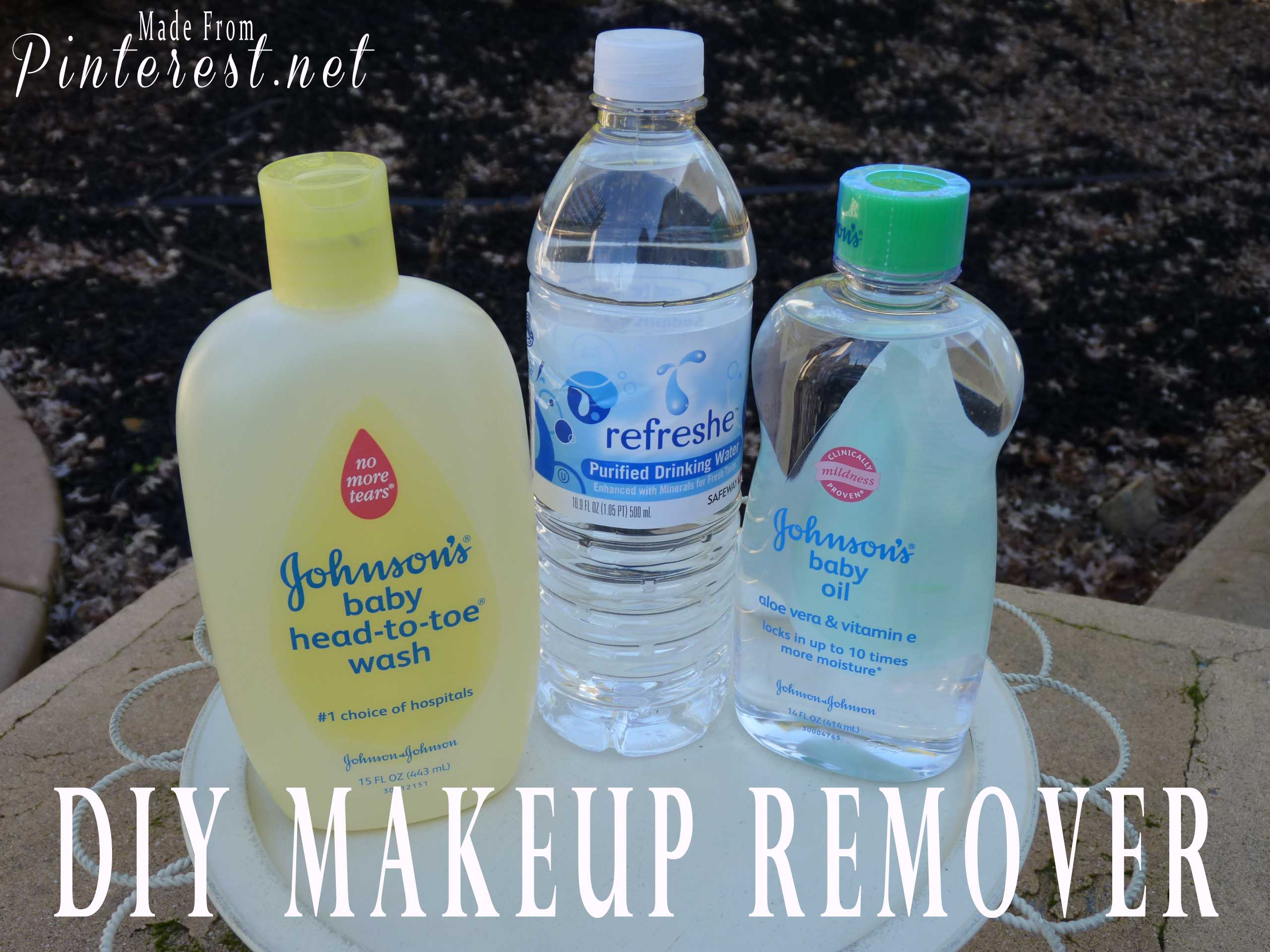 DIY Makeup Remover