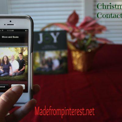 Christmas Card Contact Photos