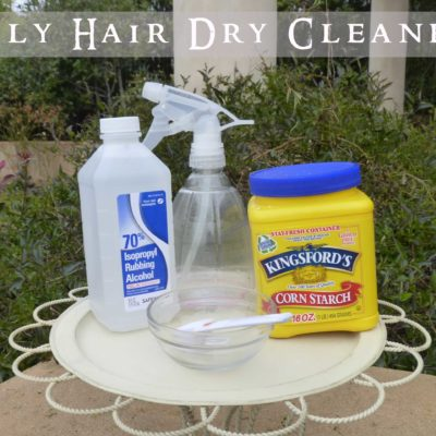 "Oily Hair ""Dry Cleaner"""