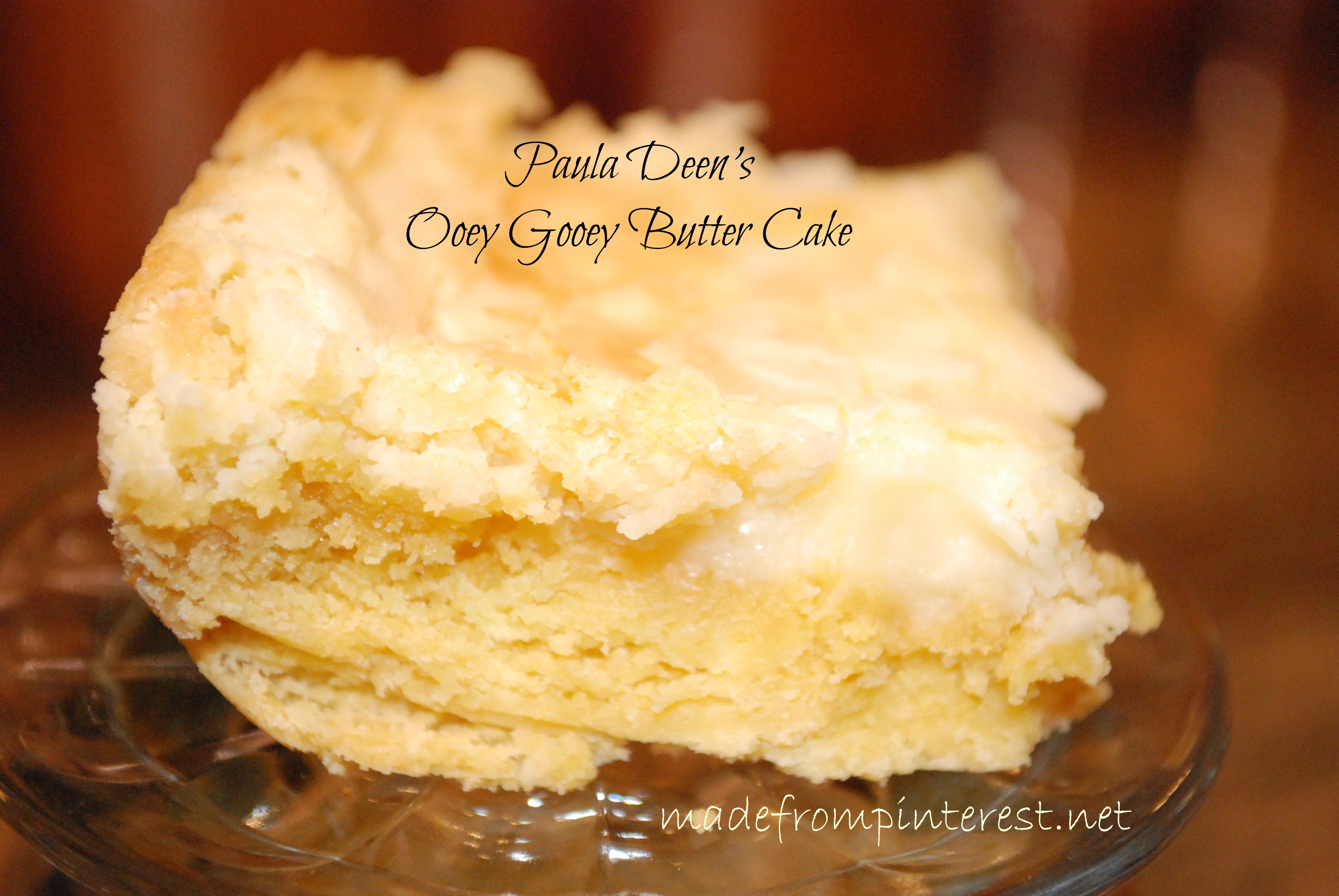 Goey Butter Cakes