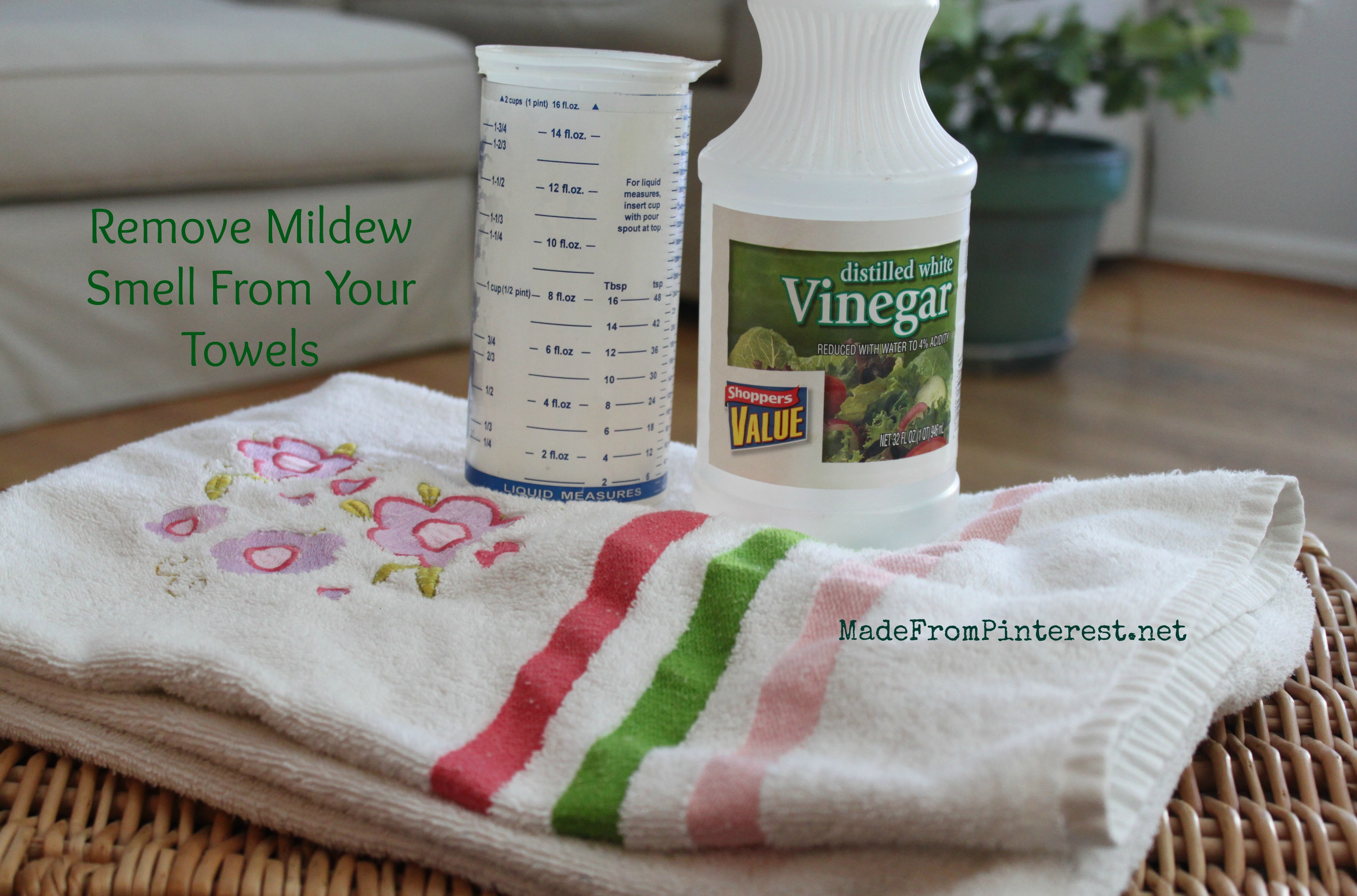 Remove Mildew Smell From Towels