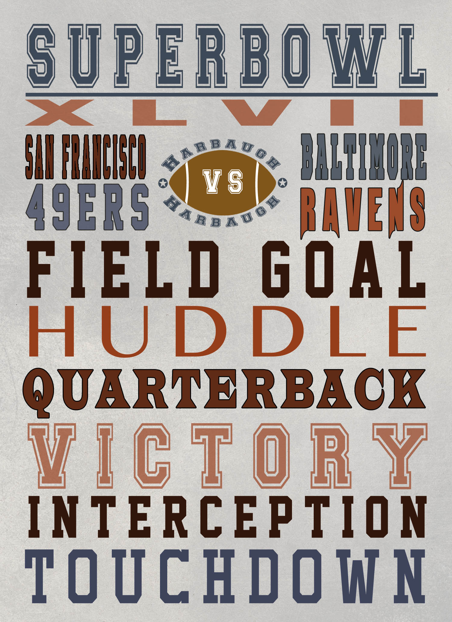 Super Bowl Free Printable