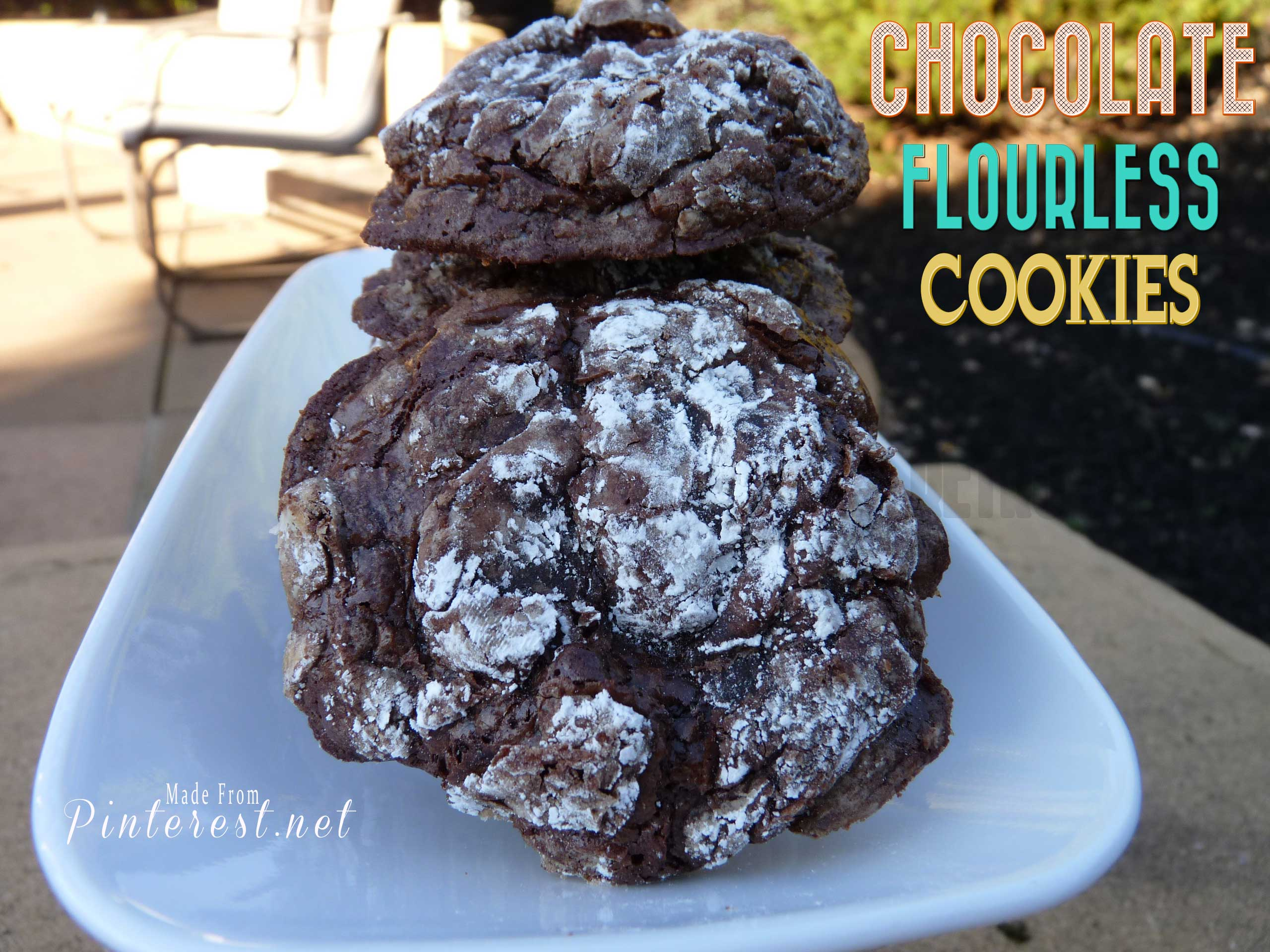 Chocolate-Flourless-Cookies