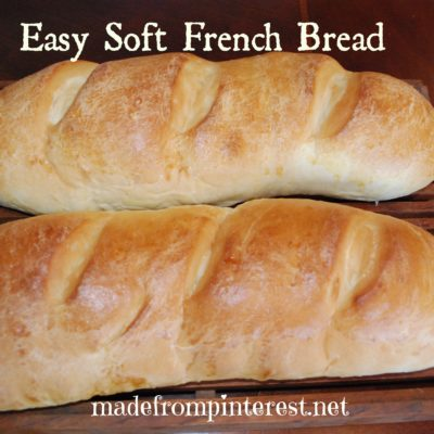 Easy Soft French Bread