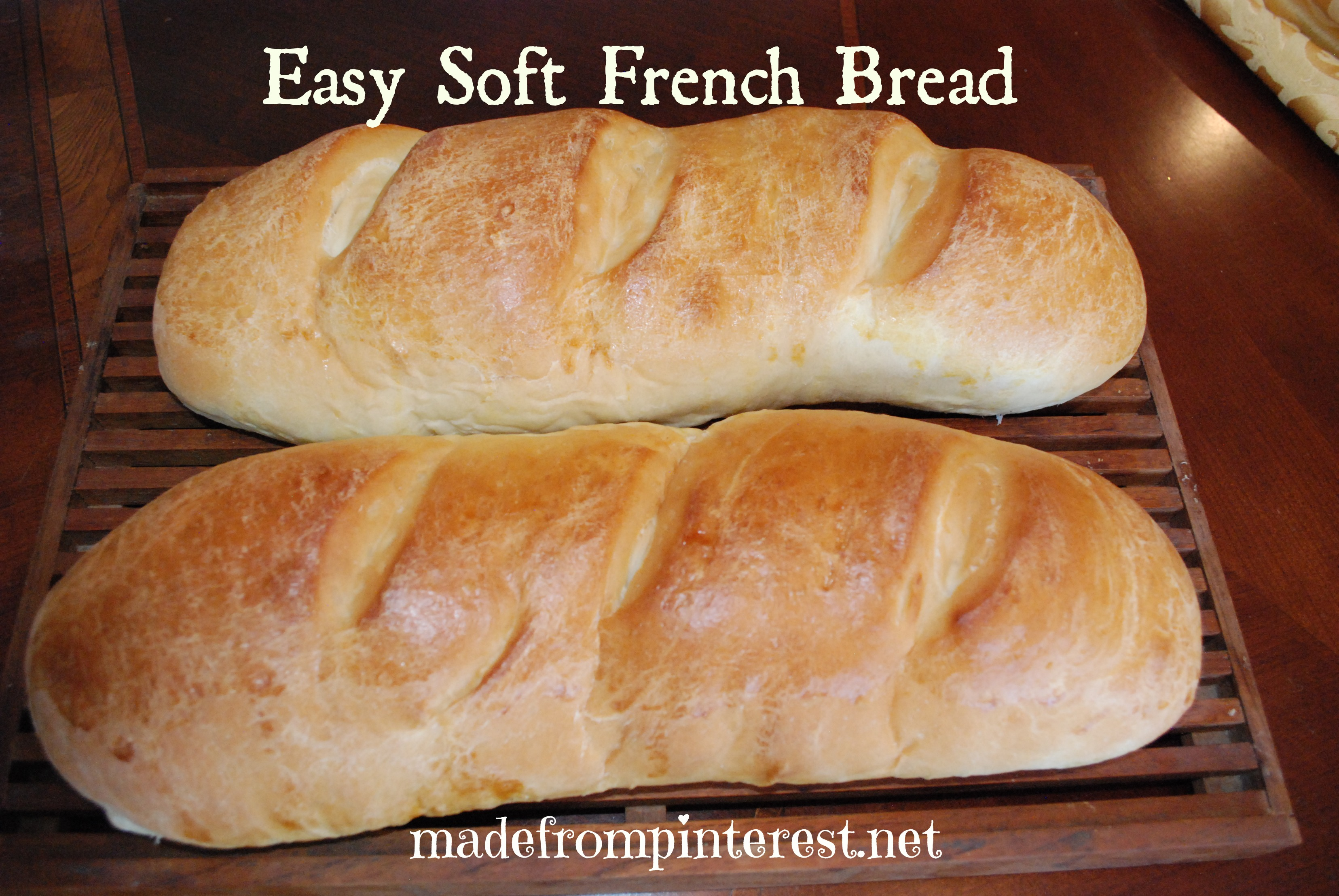 Easy soft french bread tgif this grandma is fun french bread forumfinder Choice Image