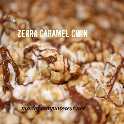 Zebra Caramel Corn