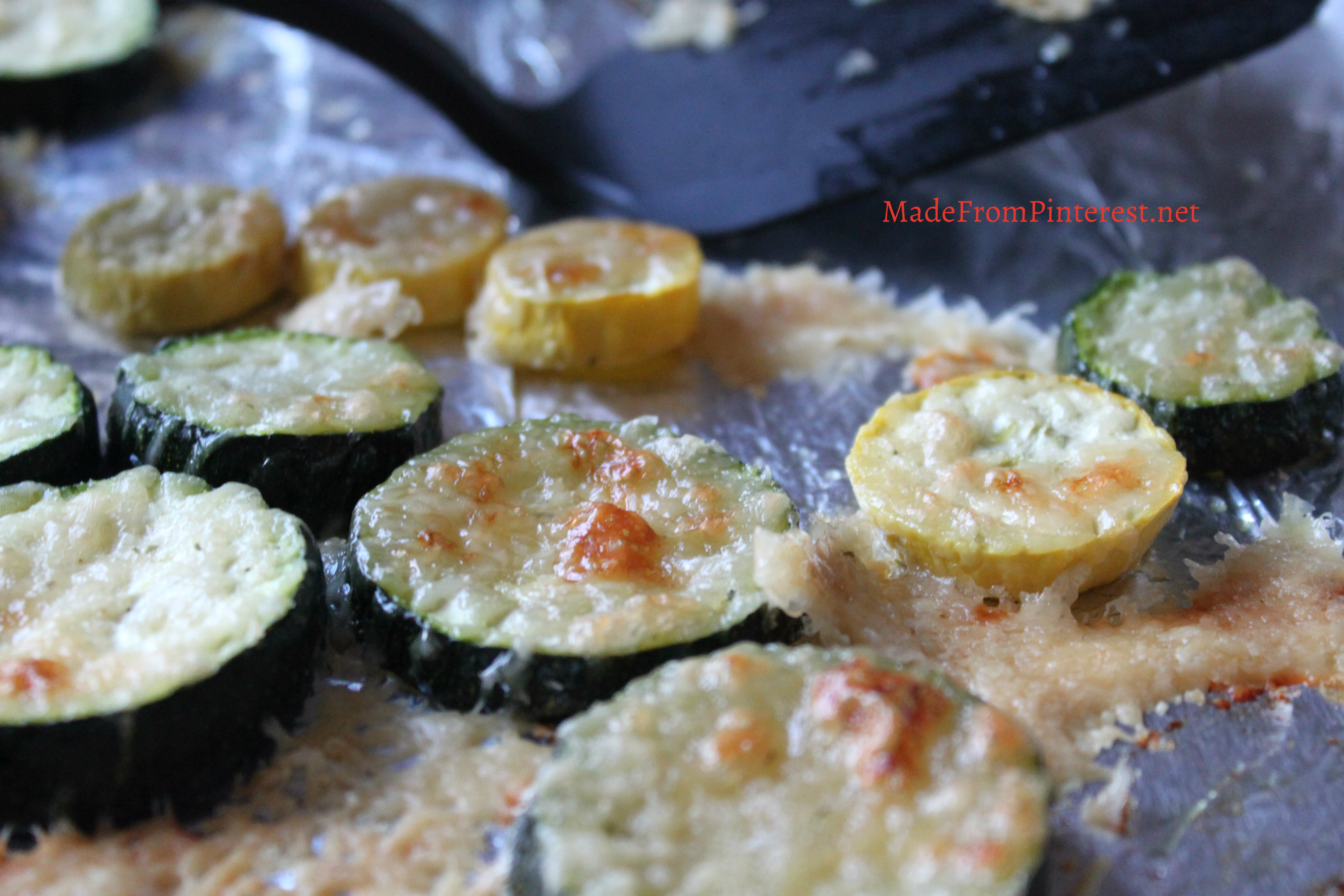 Garlic Parmesan Roasted Squash - Made From Pinterest