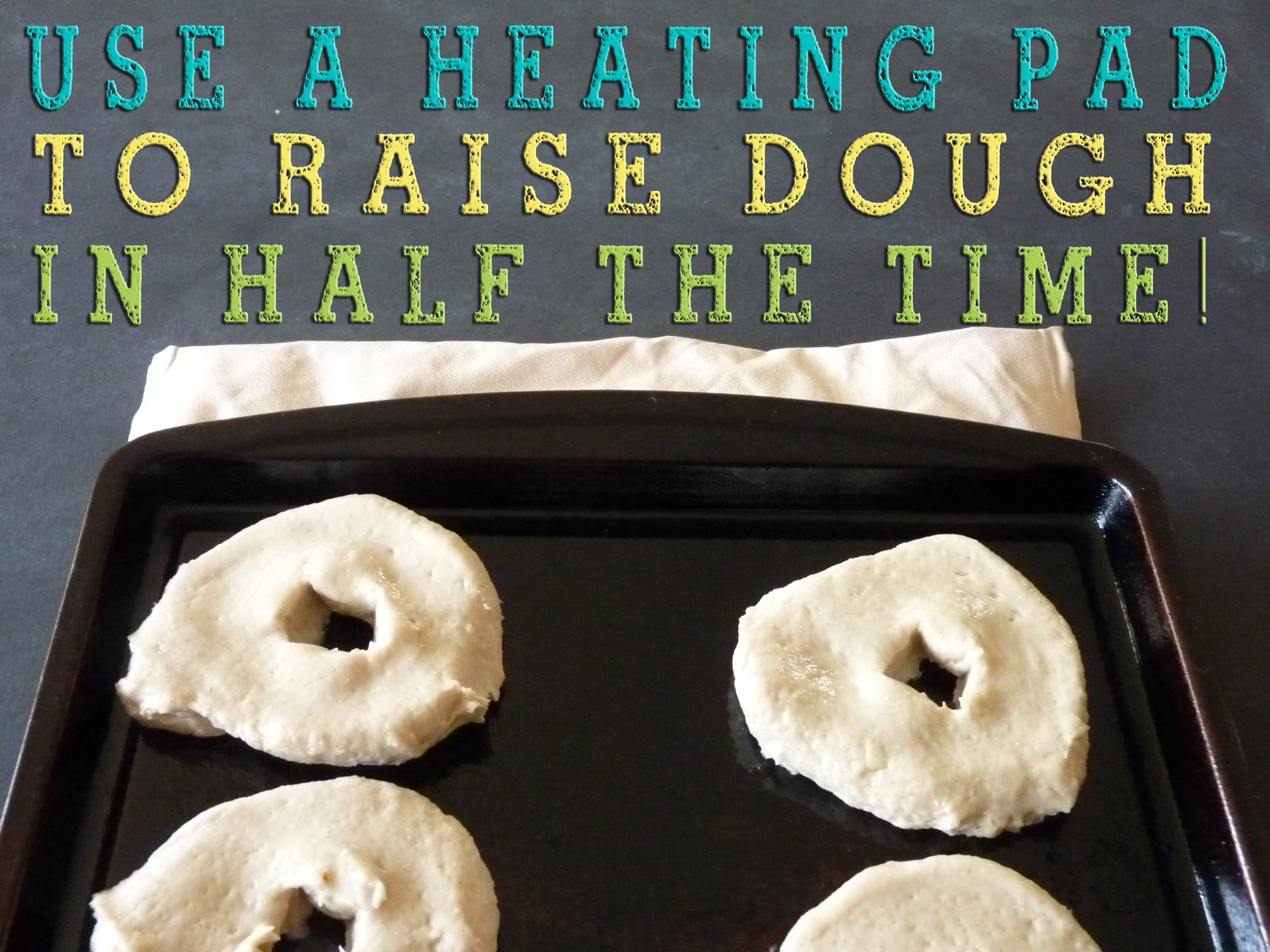 Heating Pad Raise Dough