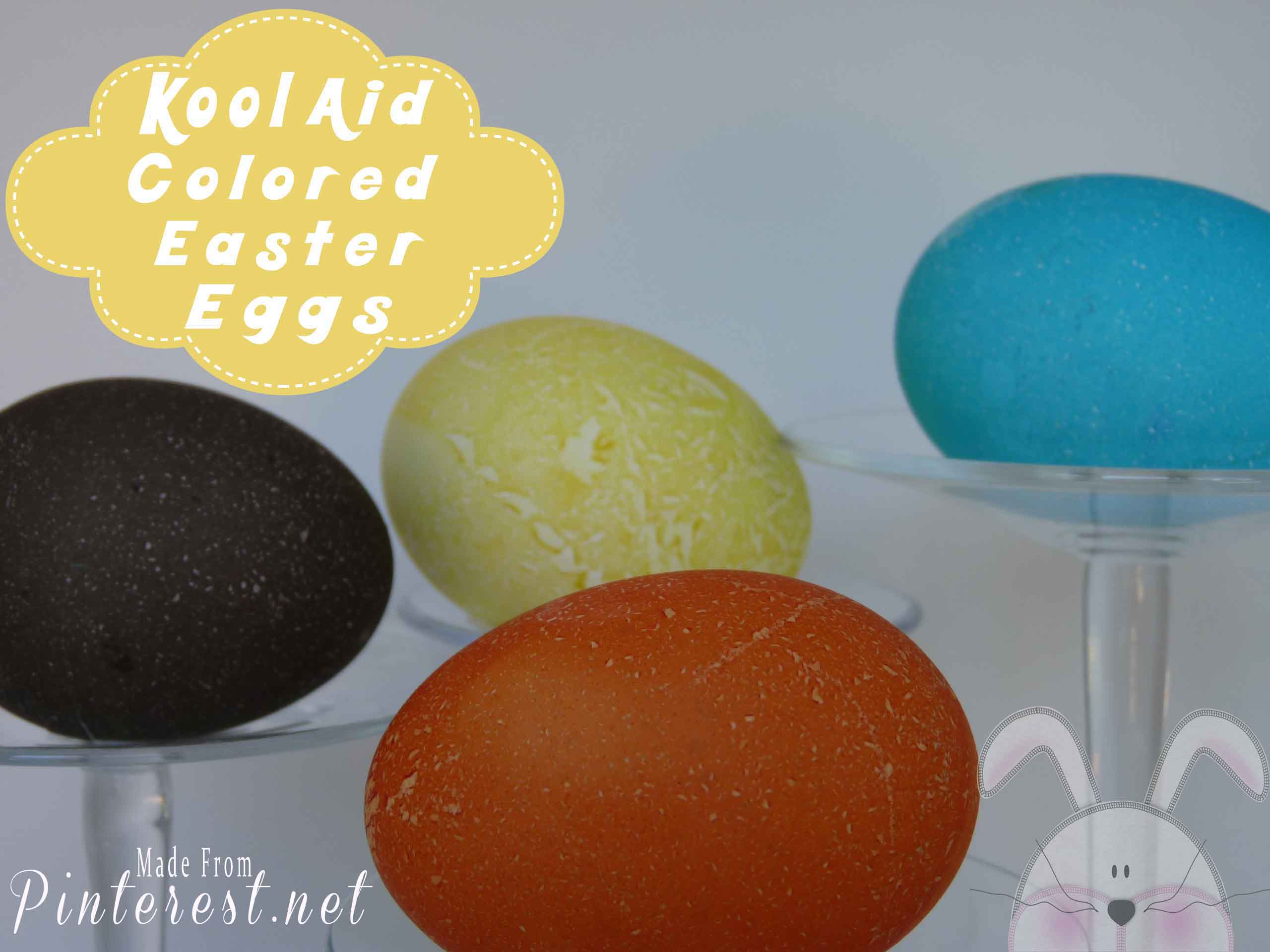 Kool Aid Colored Easter Eggs #Kool Aid Easter Eggs #Easter #Kool Aid