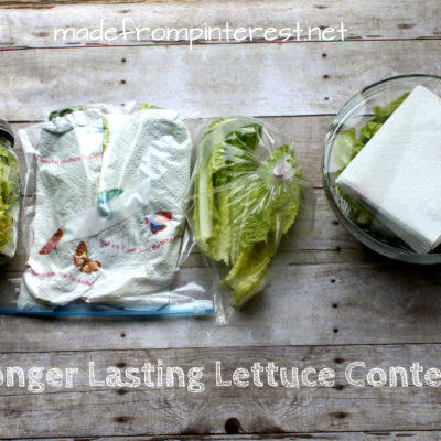 Longer Lasting Lettuce Contest
