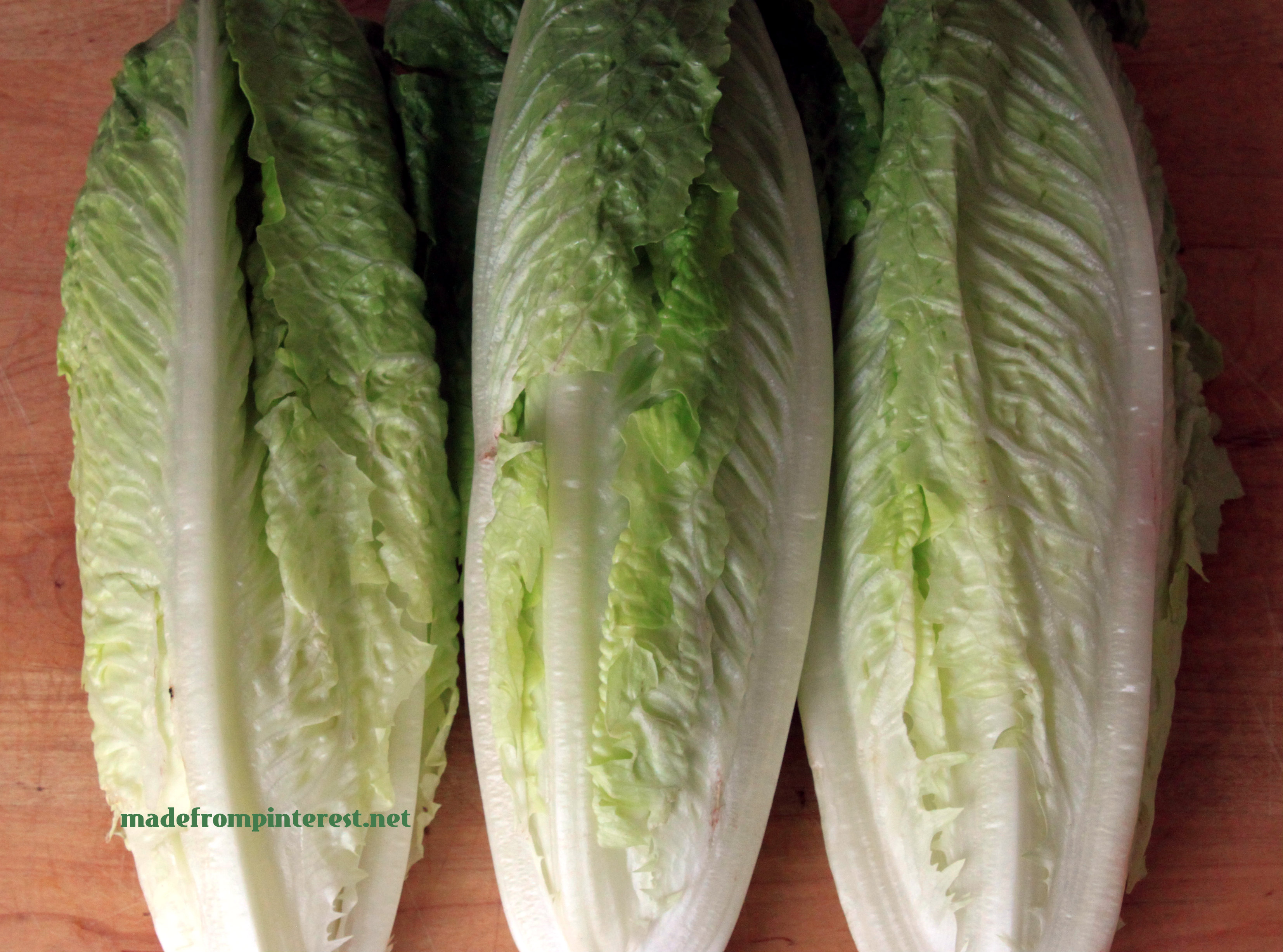 Three heads of lettuce stored four ways to find best method of storage by madefrompinterest.net