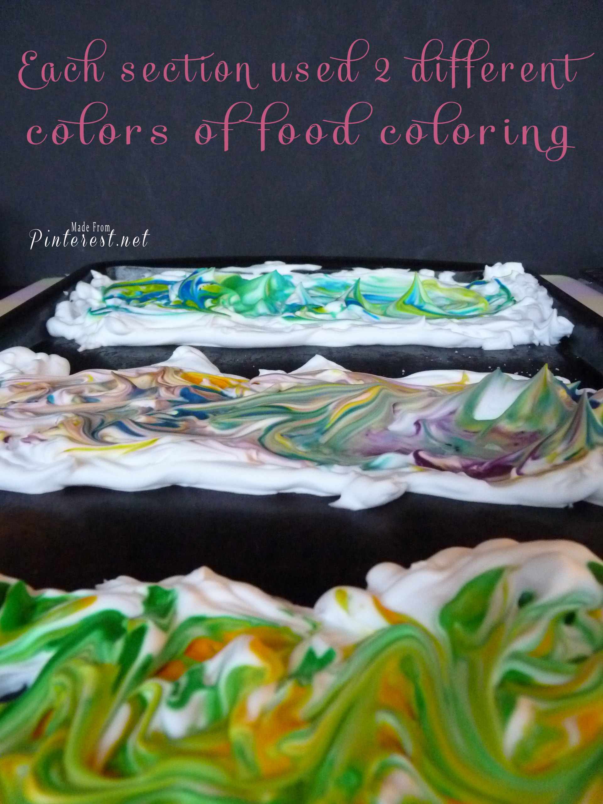 Two Food Coloring WIP