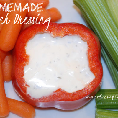 Homemade Ranch Dressing Recipe