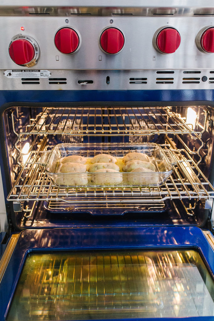 Potatoes with Parmesan