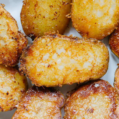 Potatoes with Parmesan