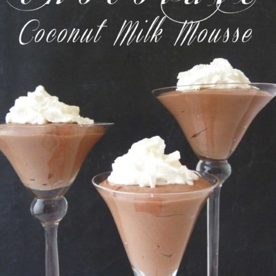 Chocolate Coconut Milk Mousse