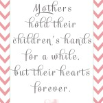 Free Mother's Day Quote 8x10 #Mother's Day #Free Mother's Day Printable #Free Printable
