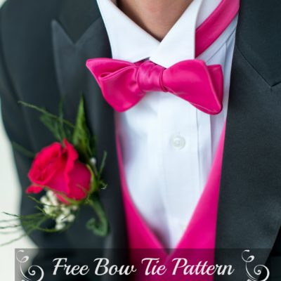 A Bow Tie Pattern With A Touch of Class