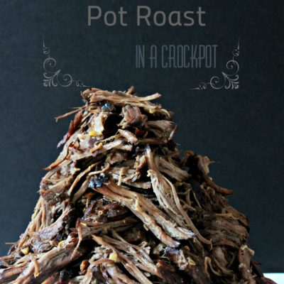 Balsamic Pot Roast in a Crockpot