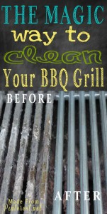 Magic way to clean your grill!