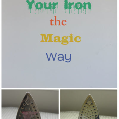 Clean Your Iron the Magic Way