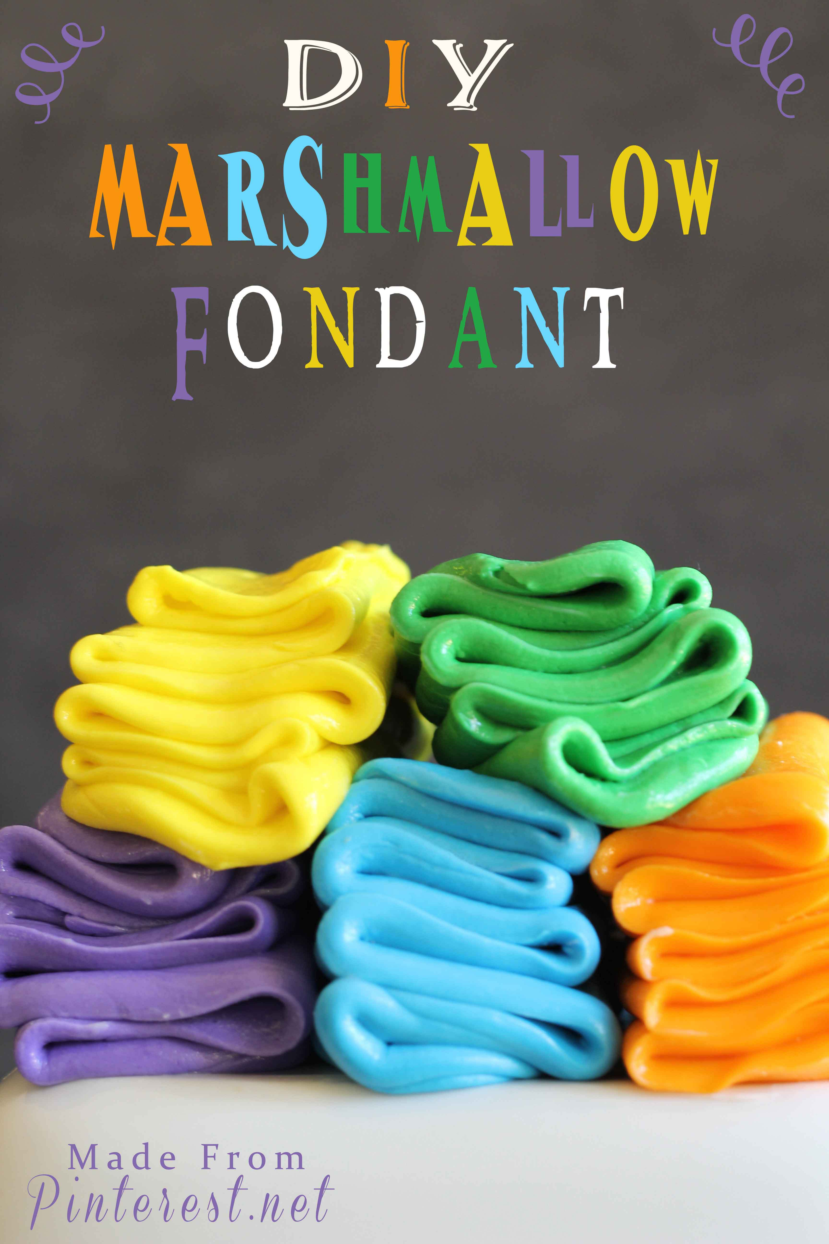 How to make marshmallow fondant icing recipe