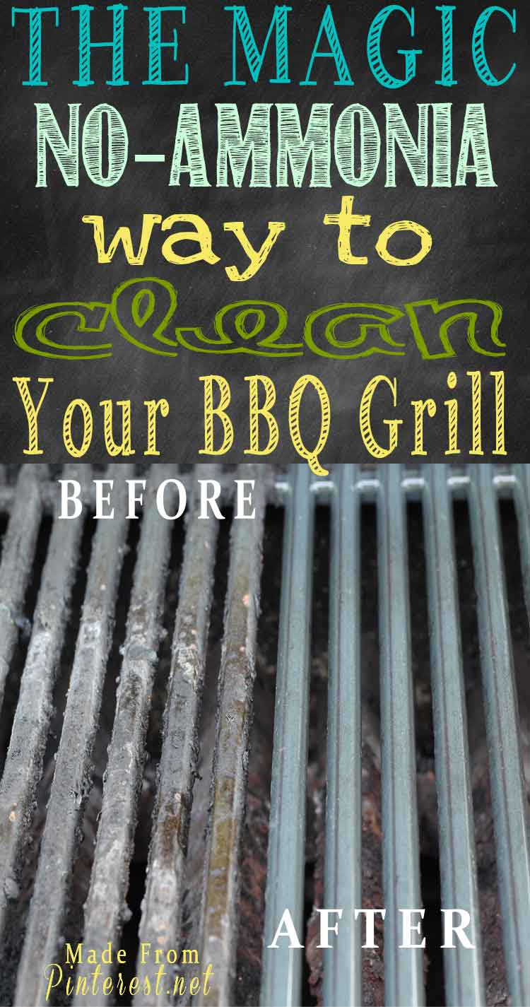 Magic No Ammonia Way to Clean Your BBQ Grill