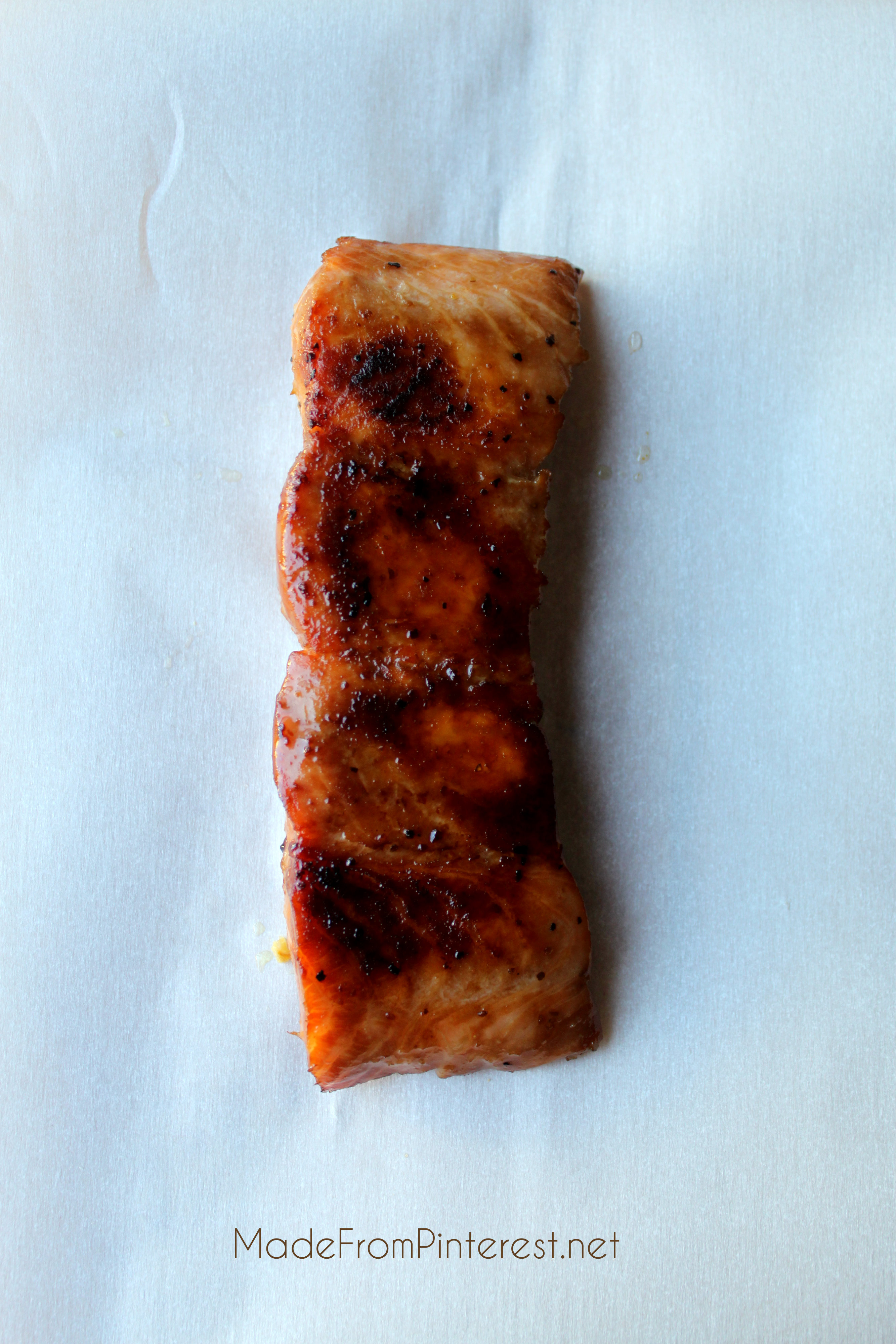 Marinated Salmon Wrap In Foil And Bake For 15 Minutes An Easy, Elegant