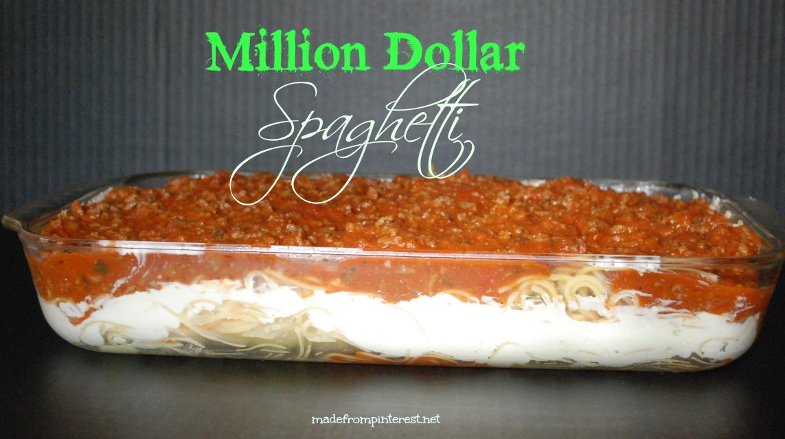 Million Dollar Spaghetti - TGIF - This Grandma is Fun