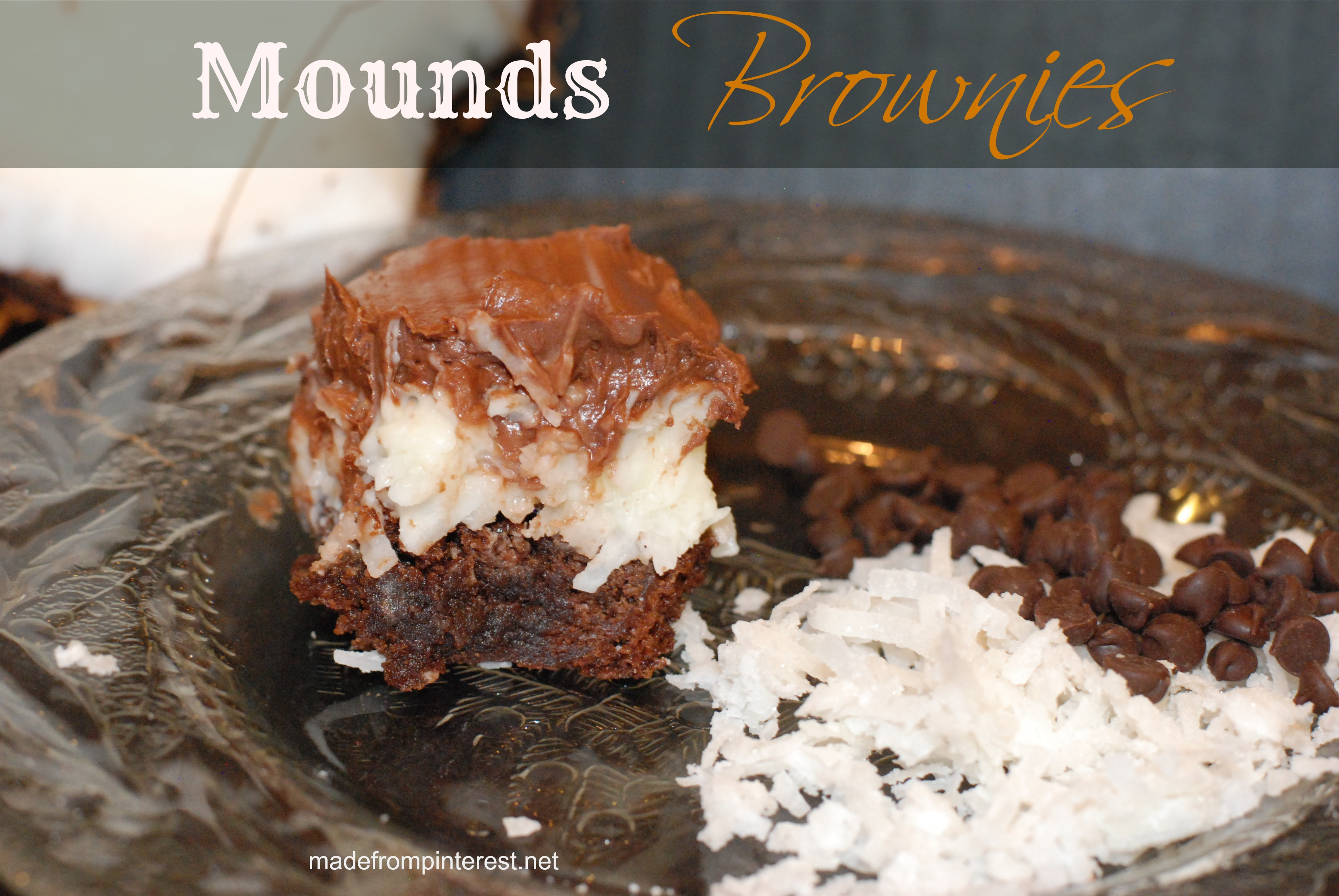 Sometimes you feel like a nut. Sometimes you don't. Nut or no nut, these brownies will make you want to sing! madefrompinterest.net