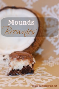 Sometimes you feel like a nut. Sometimes you don't. Nut or not, these Mounds Brownies will have you singing! madefrompinterest.net