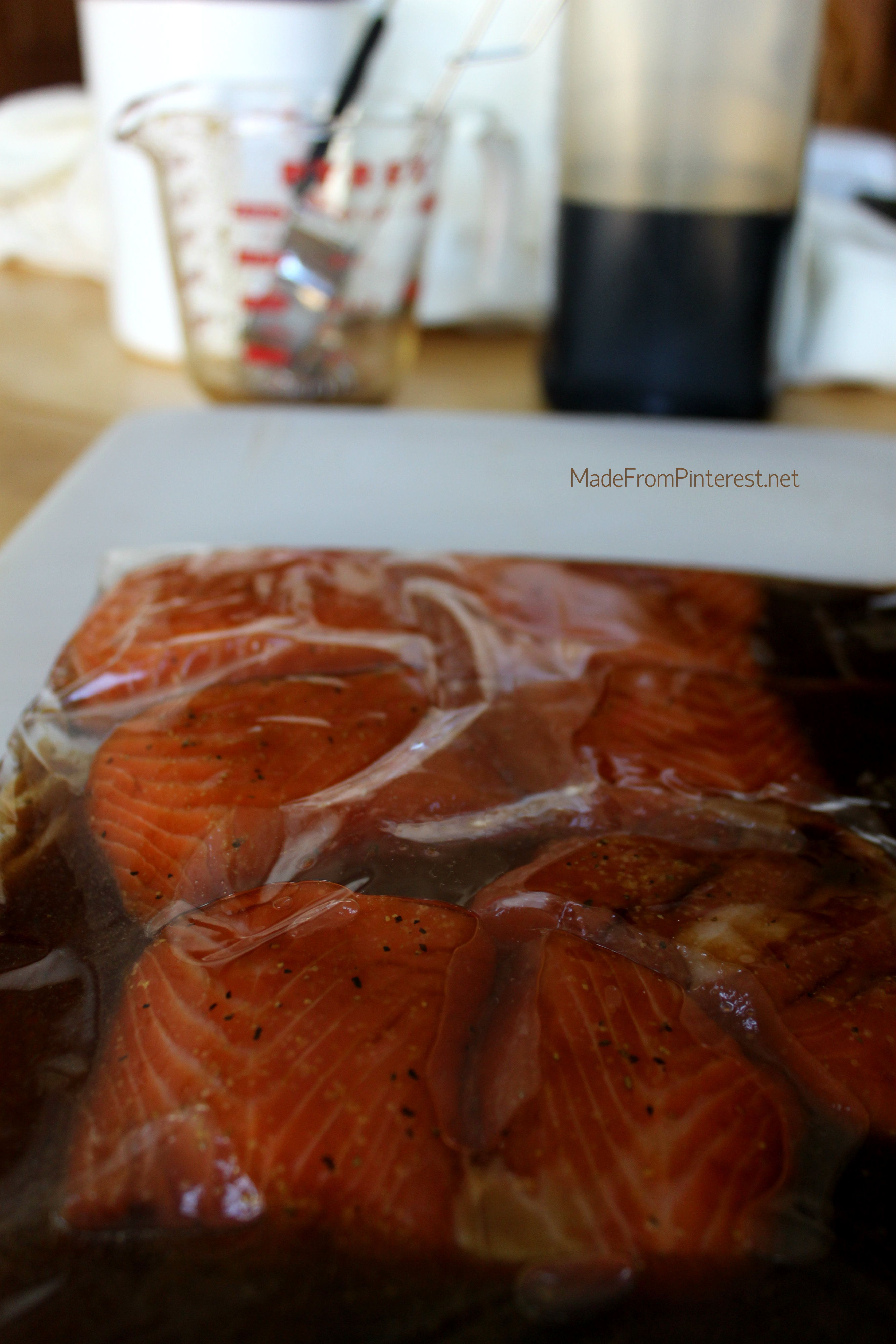 This Simple Marinade For Salmon Caramalizes Beautifully Looks Elegant, And  So Easy To Make