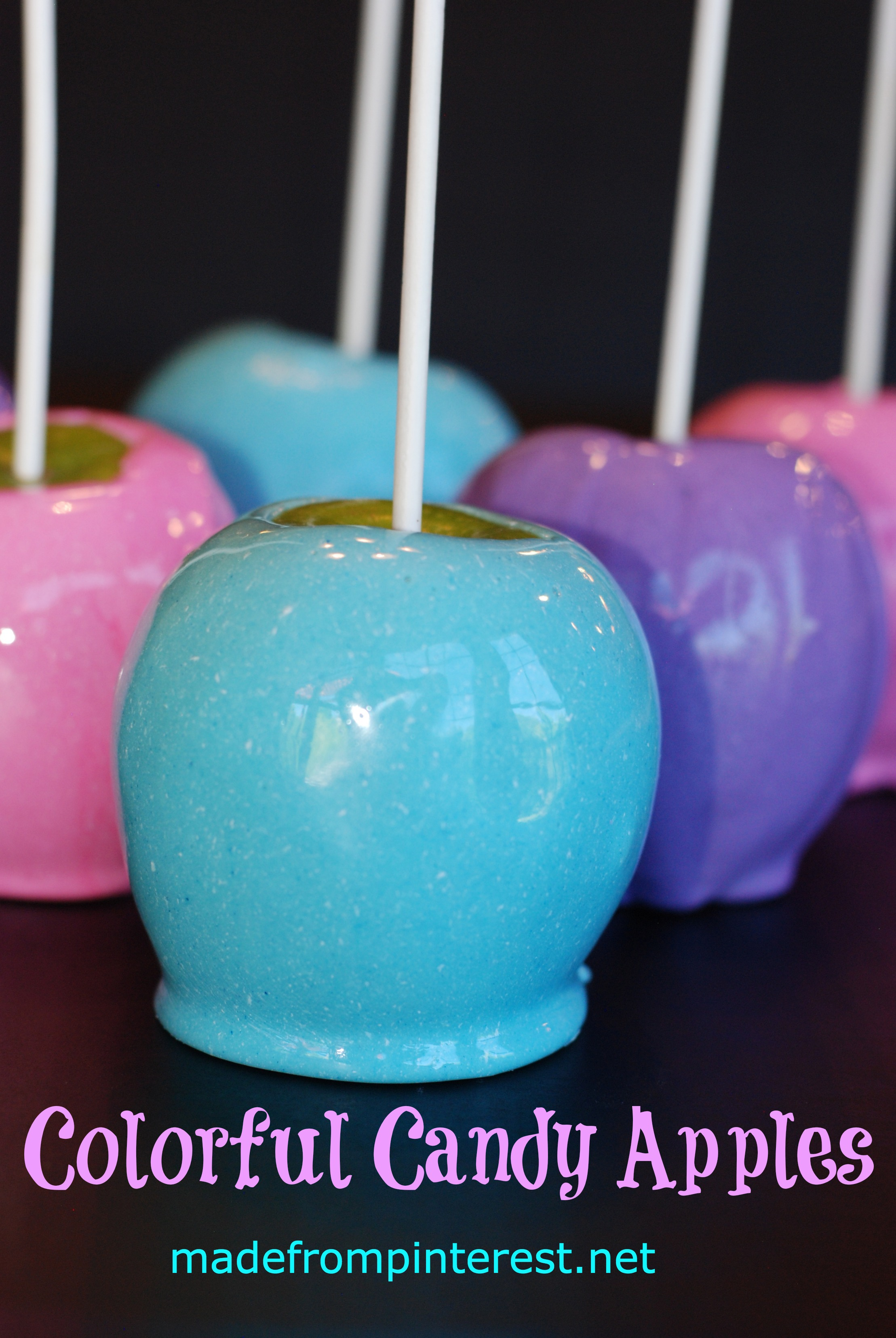 Colorful Candy Apples Tgif This Grandma Is Fun