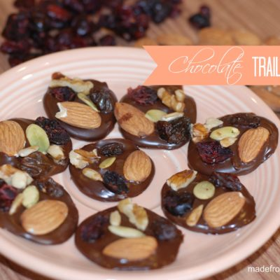 Healthier Chocolate Trail Mix Bites