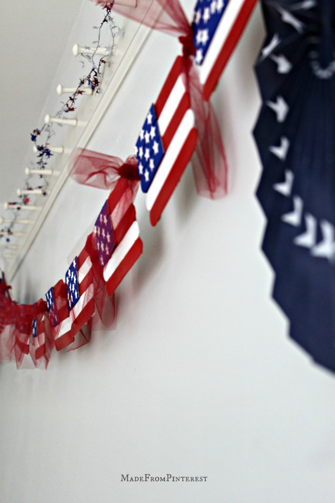 Kids American Flag Craft MadeFromPinterest