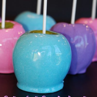 Colorful Candy Apples