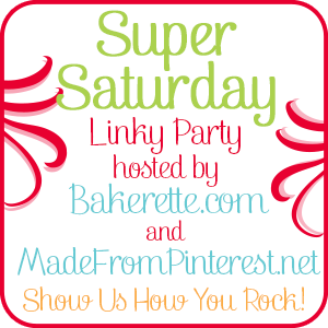 Super Saturday Show Us How You Rock Link Party!