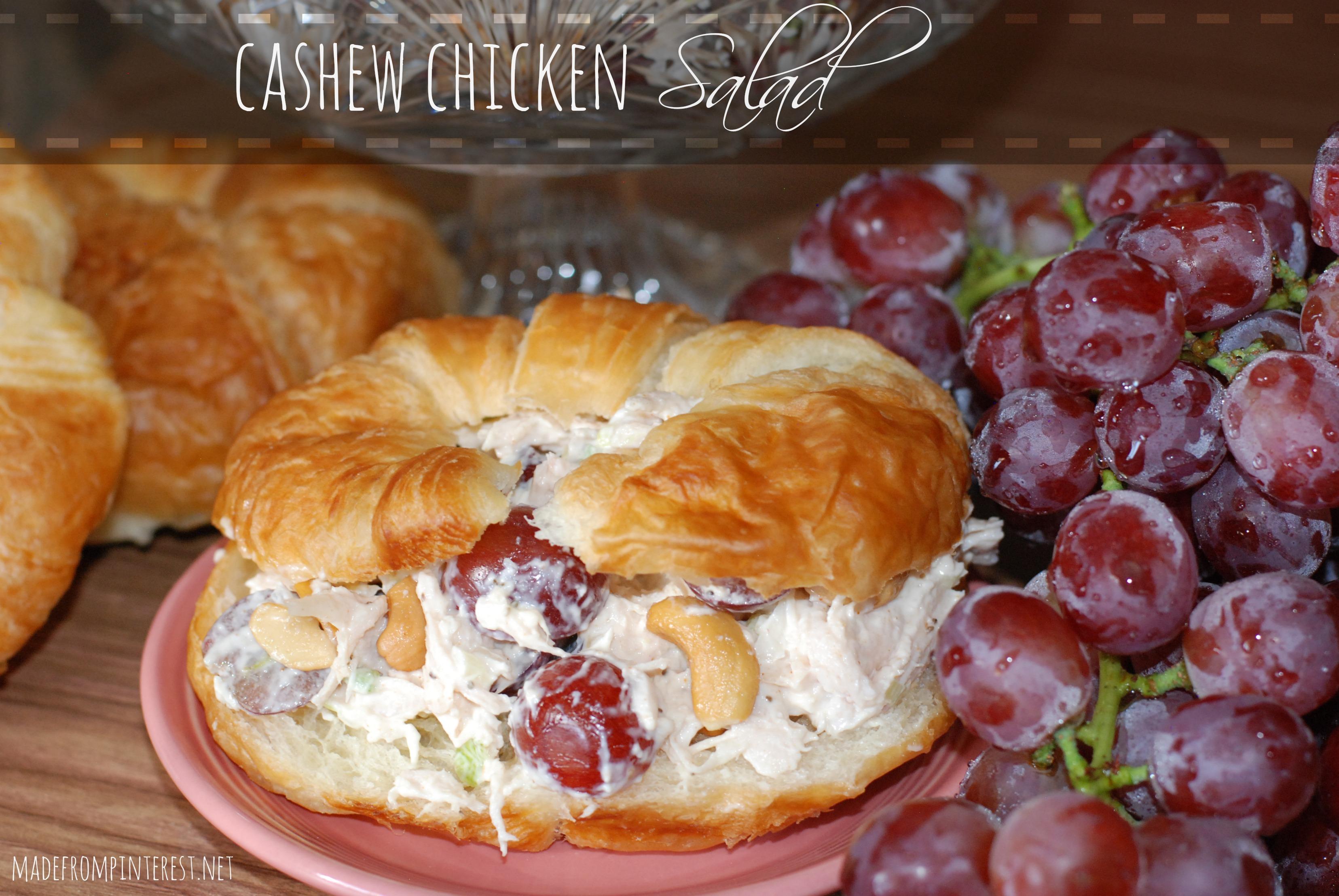 Cashew Chicken Salad Tgif This Grandma Is Fun