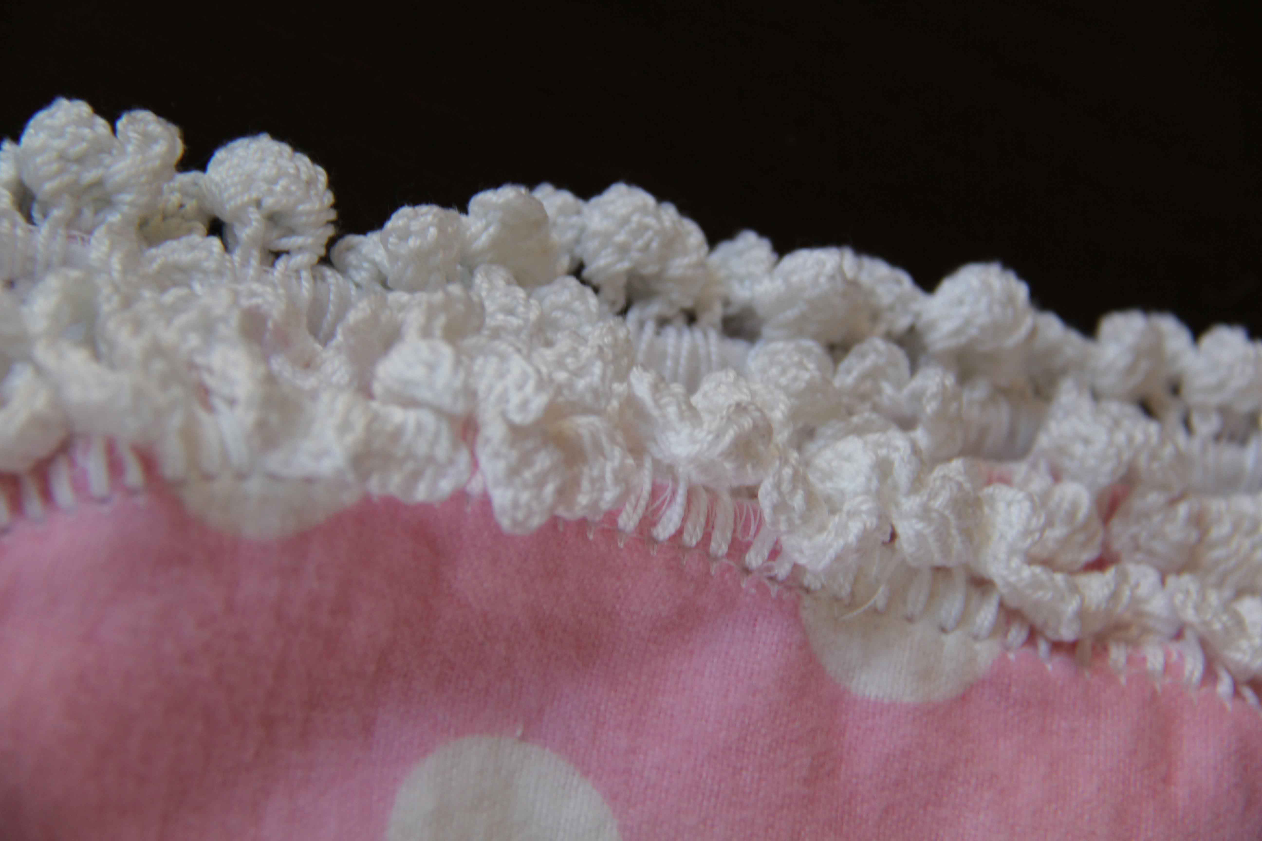 ... would be. I started to crochet the stitch and kept my fingers crossed