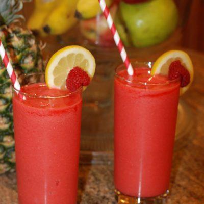 Frozen Raspberry Lemonade
