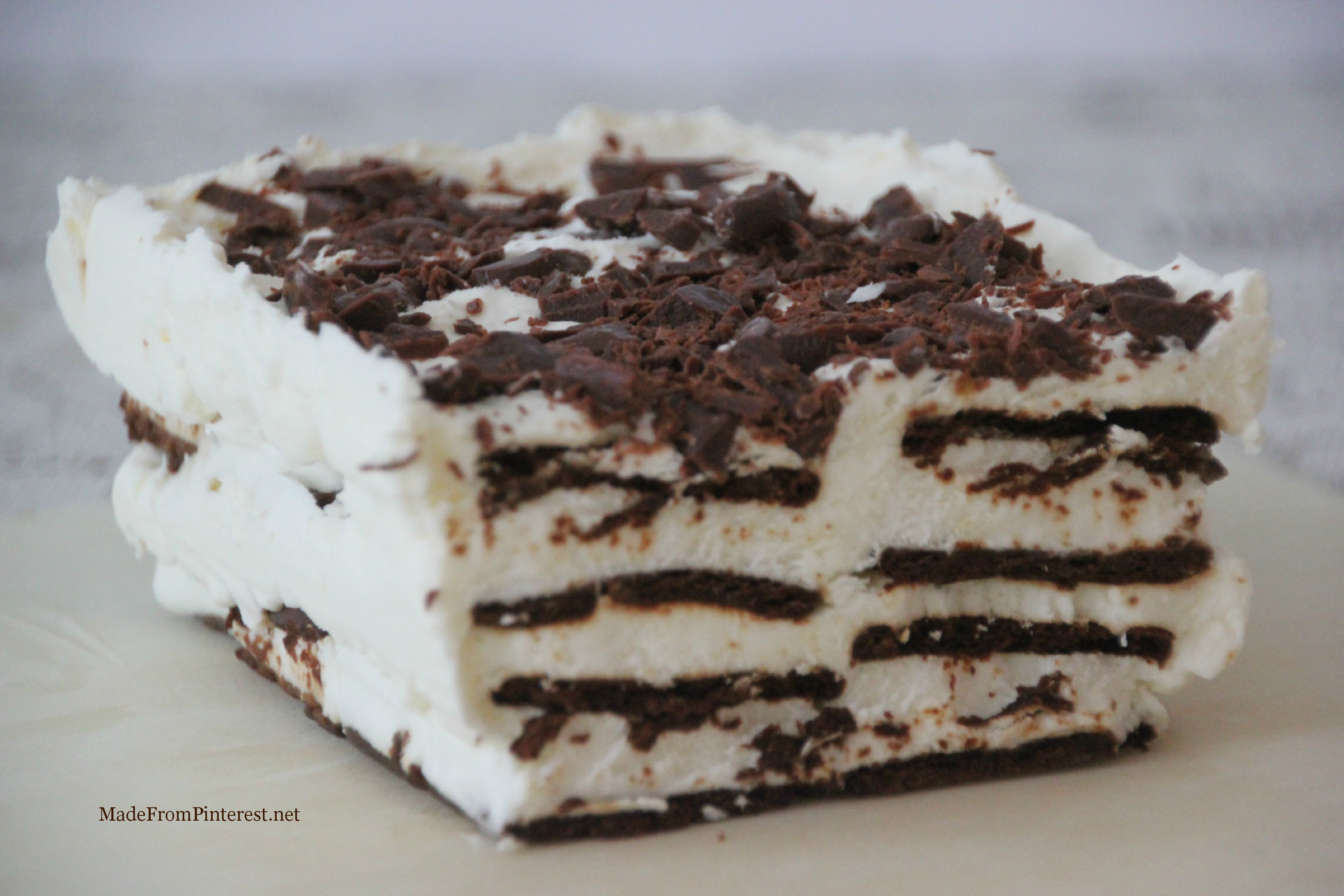 Easy Ice Cream Sandwich Cake Recipe