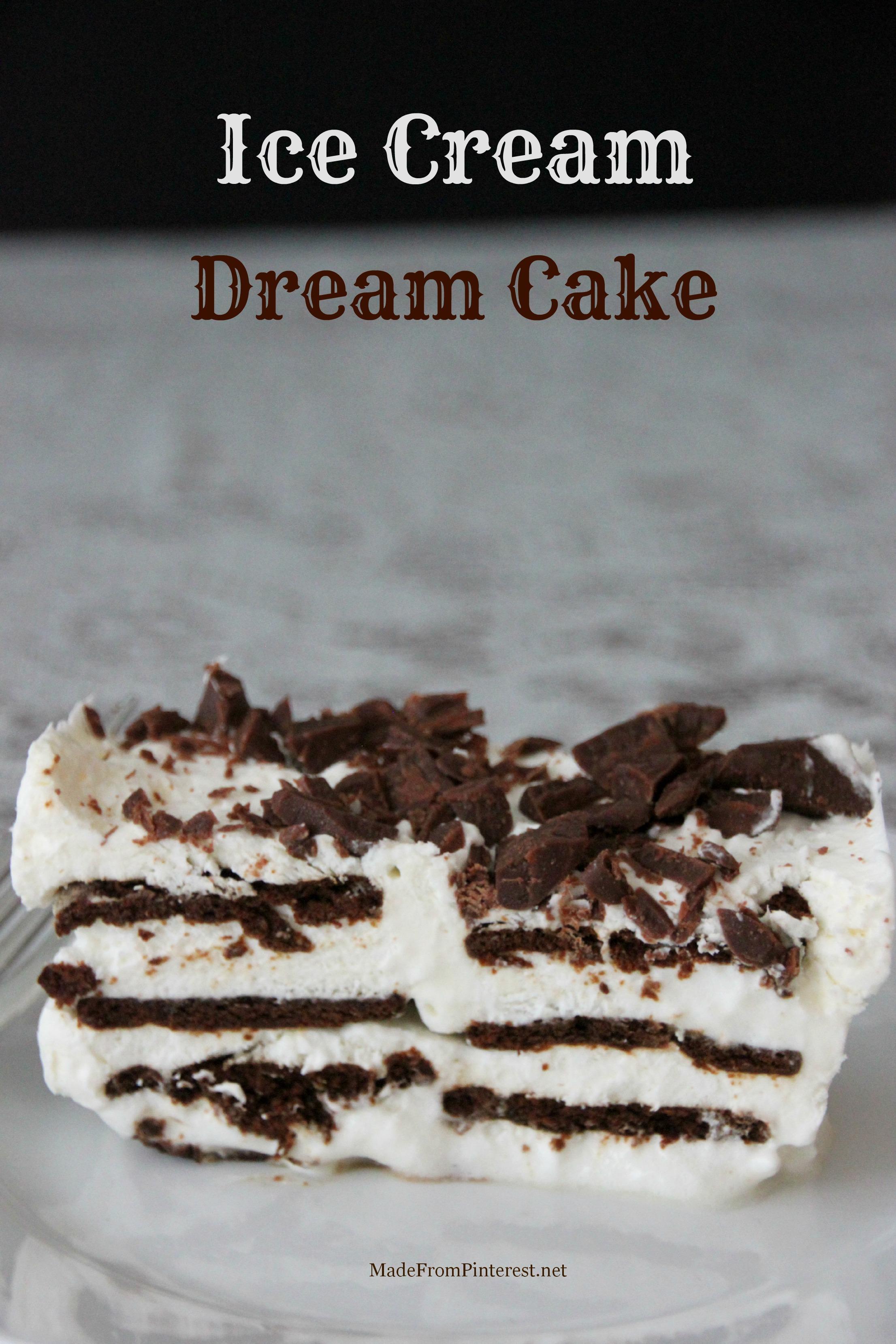 Personal Cake That Looks Like Ice Cream