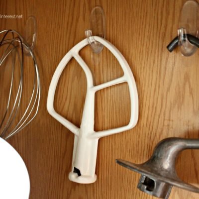 Kitchen Aid Accessories – Hang 'em!