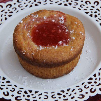 Gluten Free Strawberry Cream Cheese Muffins